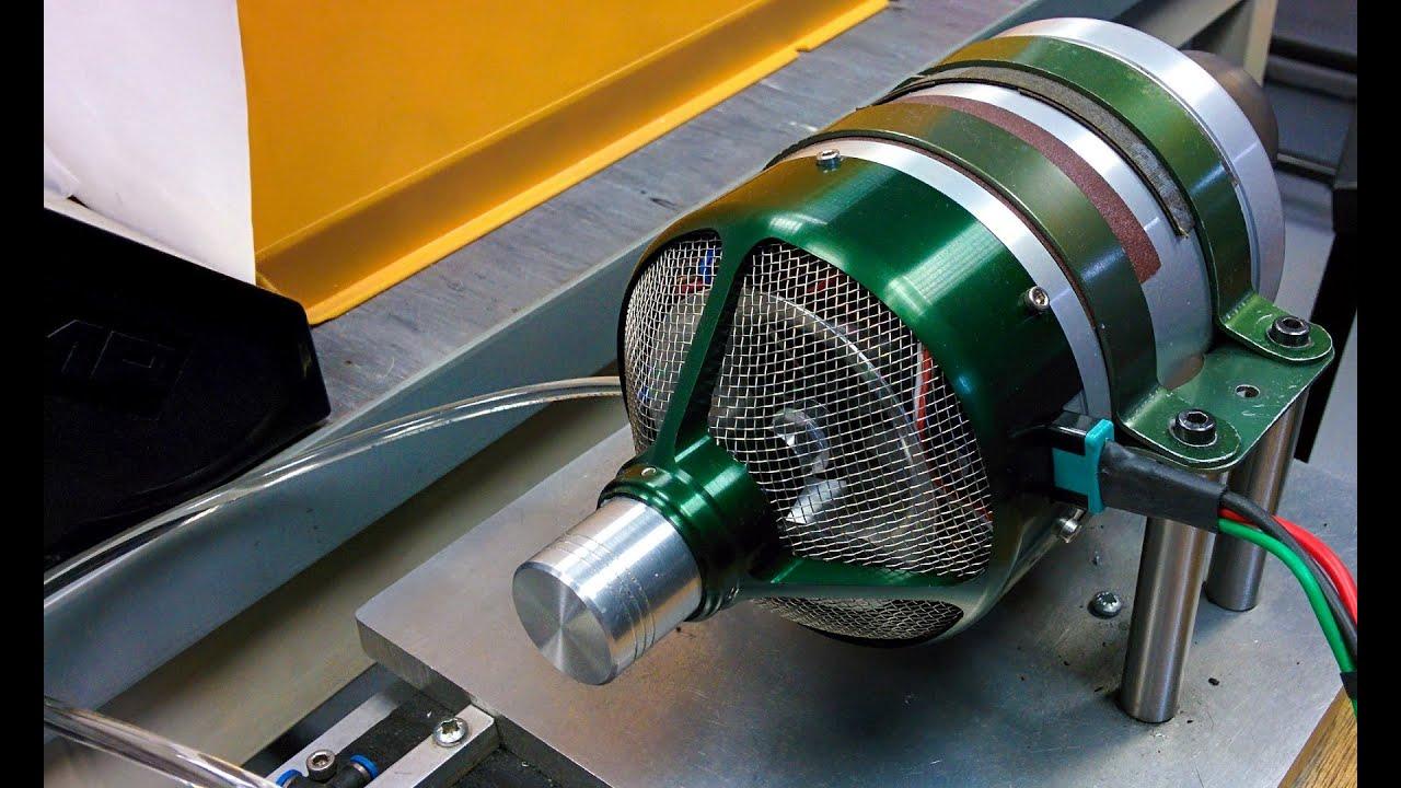 Wren 44i RC model jet turbine start up