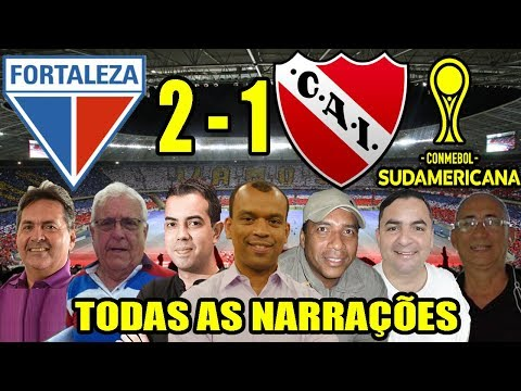 Todas as narrações - Fortaleza 2 x 1 Independiente | Copa Sul-Americana 2020 from YouTube · Duration:  34 minutes 9 seconds