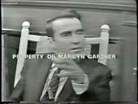 Montgomery Clift at the Hy Gardner  part 1