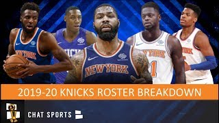 The new york knicks are not going into 2019-20 nba season with roster that they envisioned when 2019 free agency began this offseason. were ...