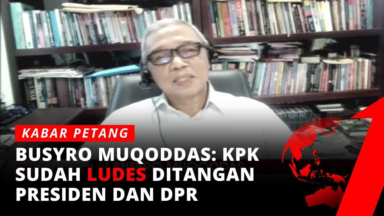 Drama Pegawai KPK jadi Birokrat, Busyro Muqoddas: KPK Dilumpuhkan!   Kabar Petang tvOne