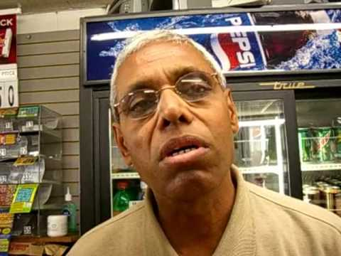 Govind Patel of Stoughton reacts to pedestrian acc...