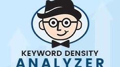 Keyword Density Checker Tool Online | Keyword Density Analyzer