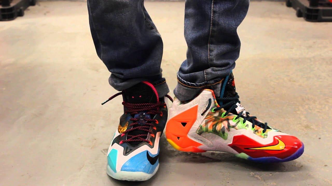Nike Lebron 11 On Feet
