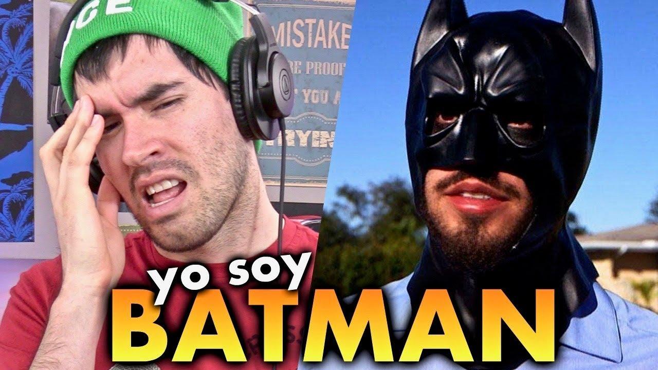 Este Tipo CREE QUE ES BATMAN !!