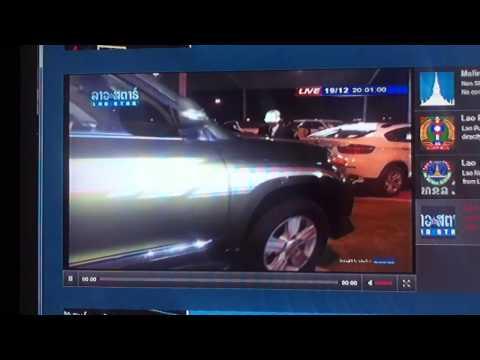 Exotic Luxury Cars in Laos on Laostar TV (part 2)