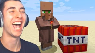 Testing Minecraft Villagers IQ to see how smart they are