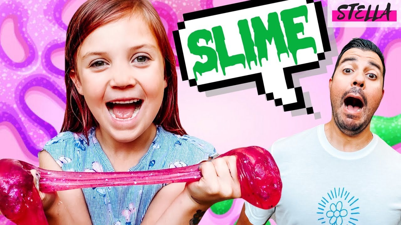 We Made SLIME!!!!