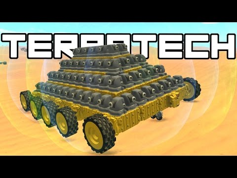 Terra Tech – Biggest Tank Ever! – TerraTech Gameplay