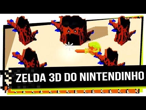 Zelda 3D do Nintendinho - Jogue Agora