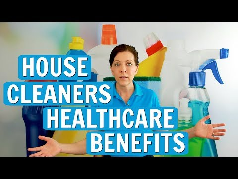 Healthcare Benefits for House Cleaning Employees