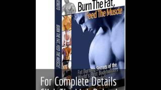 Burn The Fat - The Low Carb Diet Cheat Sheet