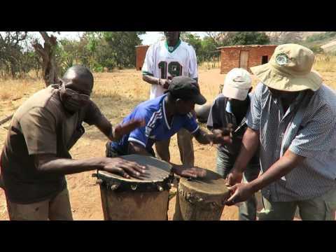 Jiti Drumming in Masembura, Zimbabwe