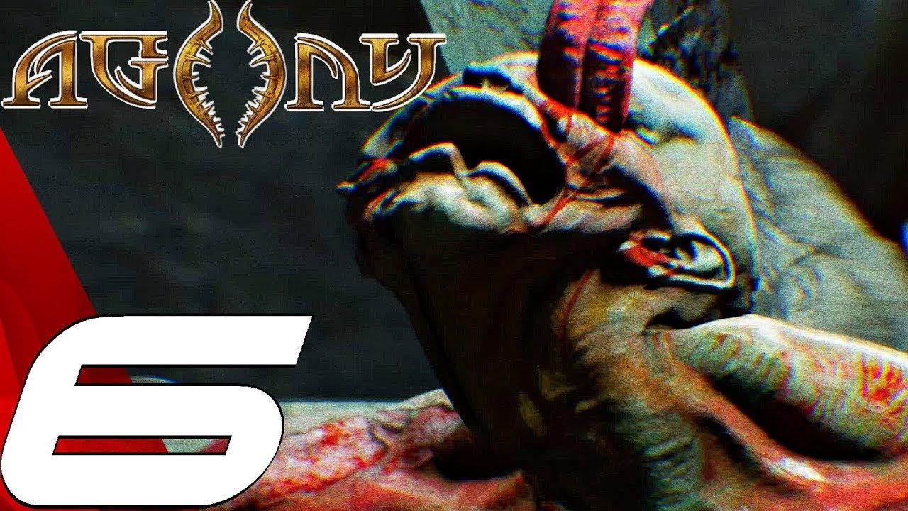 AGONY - Gameplay Walkthrough Part 6 - Giant Boss Fight (Full Game) Ultra Settings