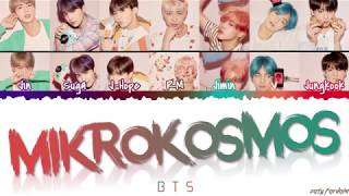 Gambar cover BTS (방탄소년단) - 'MIKROKOSMOS' Lyrics [Color Coded_Han_Rom_Eng]