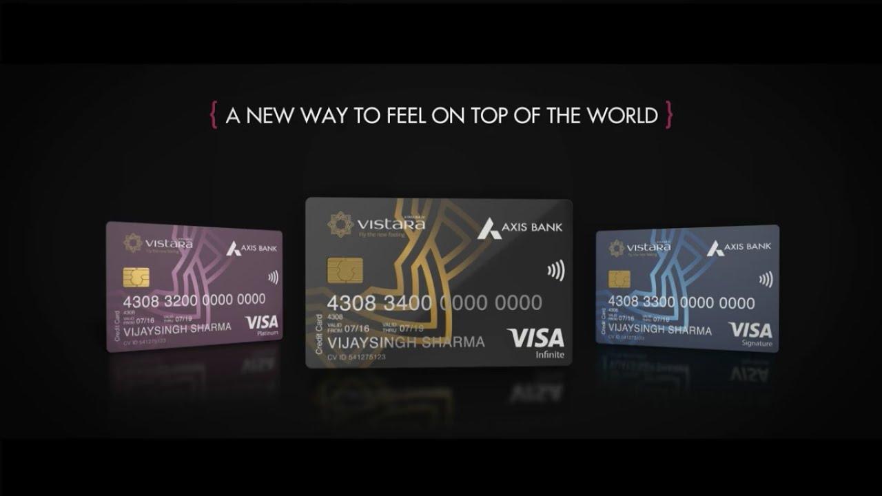 Presenting axis bank vistara credit cards youtube presenting axis bank vistara credit cards colourmoves