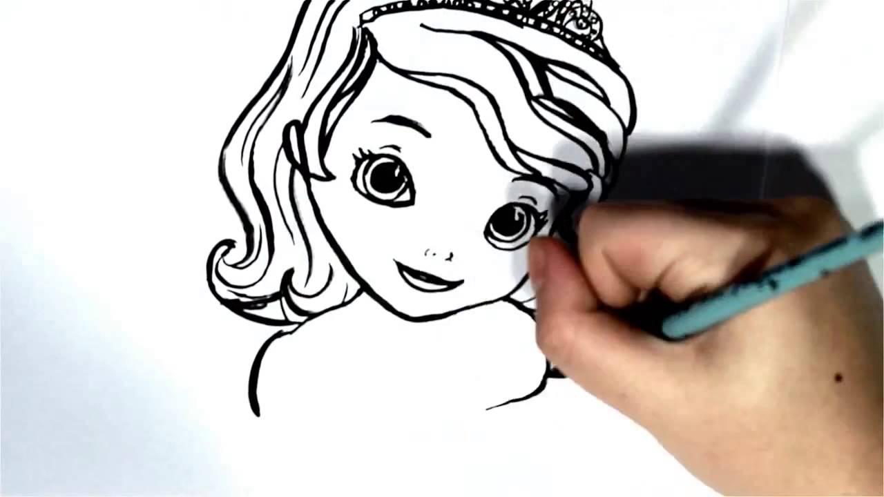 Princesa Sofia Desenho Da Princesa Sofia Dibujo Princesita Sofia