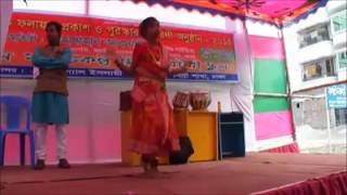 Funny Fall from Dance stage