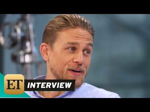 ET LIVE: Charlie Hunnam Talks His New Film King Arthur: Live From Comic-Con - 동영상