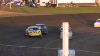 HEAT OF THE NIGHT: Iron Man Challenge USRA Stock Cars @ Rapid Speedway