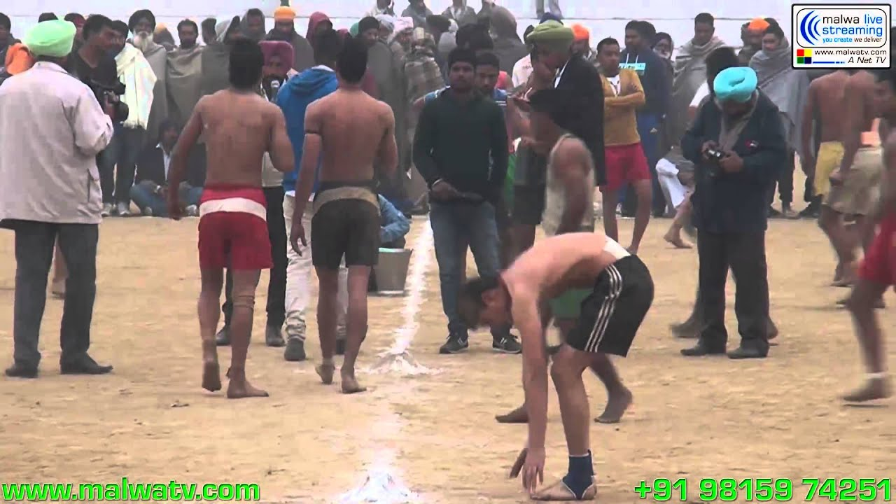 PHALLEWAL(Ludhiana) Kabaddi Cup - 2014, 17th January