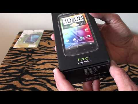 HTC SENSATION Silent Unboxing