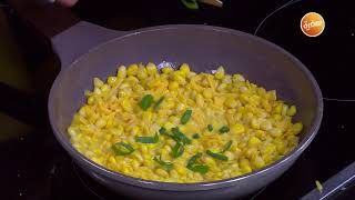 برجر بالذرة و الجبنة الشيدر - عصير ليمون بالنعناع و التفاح | سندوتش وحاجة ساقعة (حلقة كاملة)