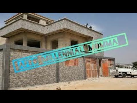 Checking out a house in construction | Living in Senegal #RepatVlog #Blaxit #Africa