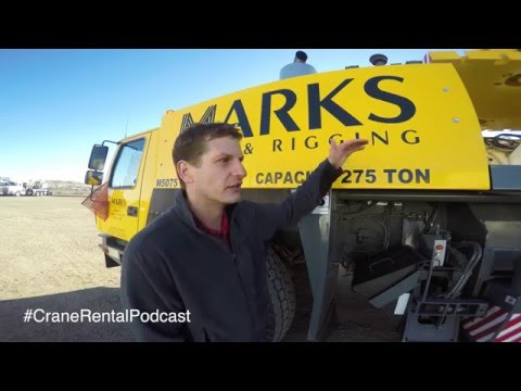 E8:  Should you rent a All-Terrain Crane or a Crawler Crane? - 4K
