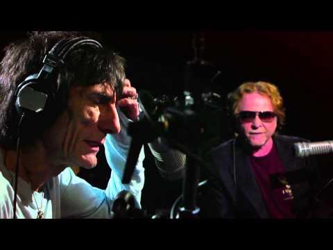 Ronnie Wood and Mick Hucknall on Small Faces' Steve Marriott