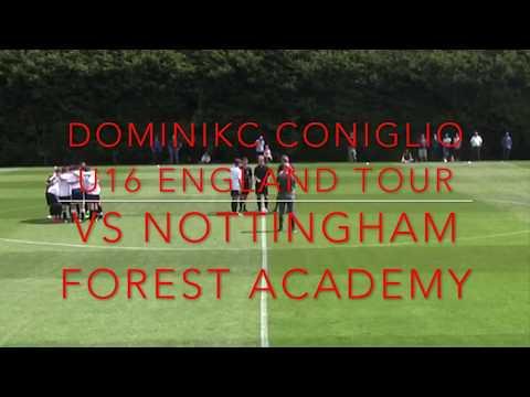 Dominick Coniglio vs Nottingham Forest Academy