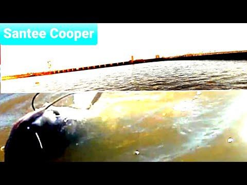 Catfishing Santee Cooper Spill Way
