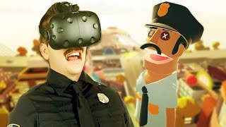 Buddy Cop?!? - Giant Cop: Justice Above All Gameplay - VR HTC Vive