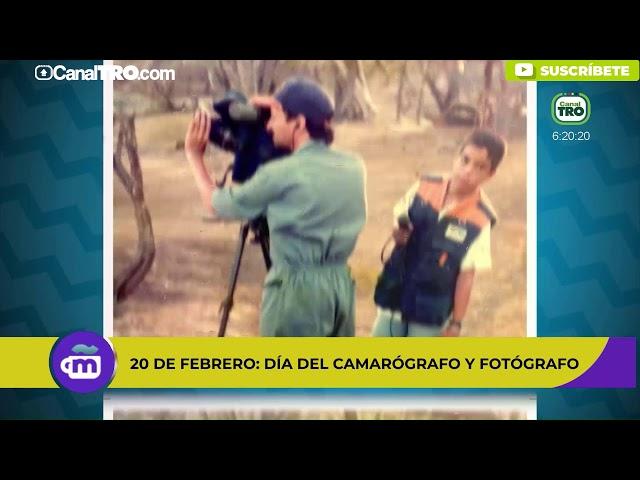 20 de febrero: Día Nacional del Camarógrafo y Fotógrafo