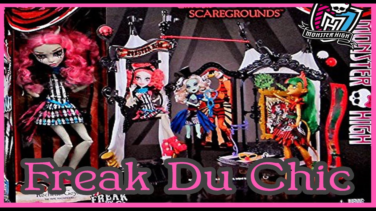 Monster High Freak Du Chic Circus Doll House Rochelle Review