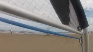 Land Sailing - Mini sand yachts racing , Benone Beach, N.Ireland,