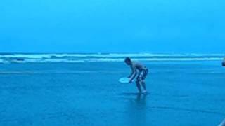 Skimboarding Ocean Park WA