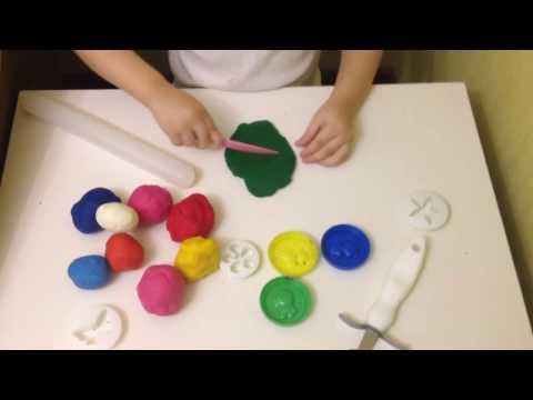 Пластилин своими руками, безопасный для детей!