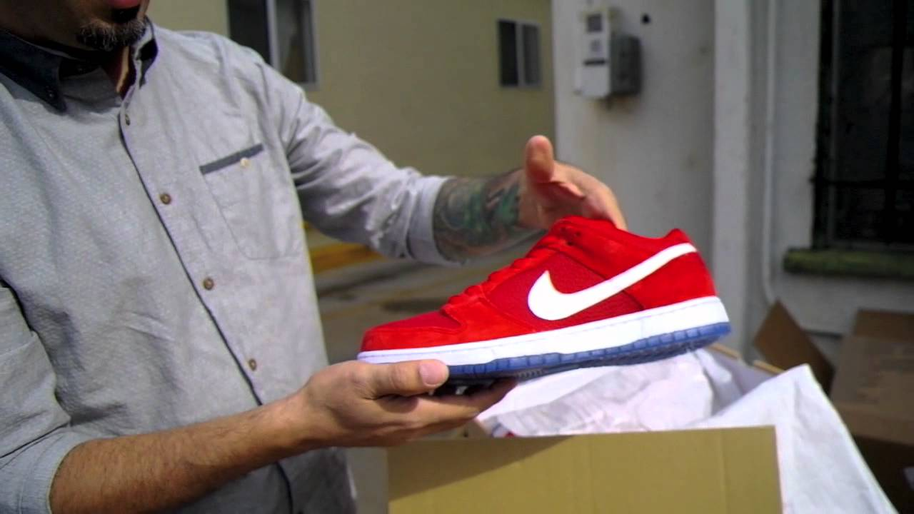 85ce7fe755db Nike SB Dunk Low Challenge Red   Koston Heritage Review - YouTube