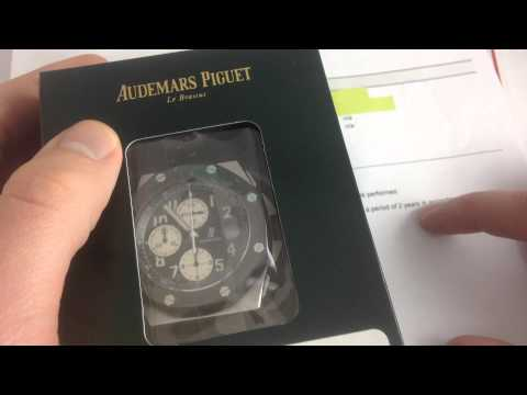 AP Royal Oak Offshore Rubber Clad: Factory Service Walkthrough
