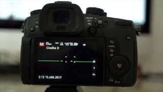 Установка V-Log L на Panasonic GH5