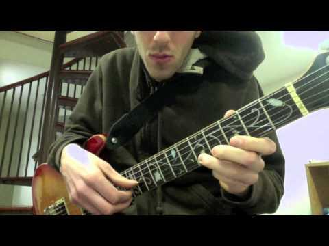 Mali Tuareg style Ali Farka Toure Tinariwen electric guitar lesson