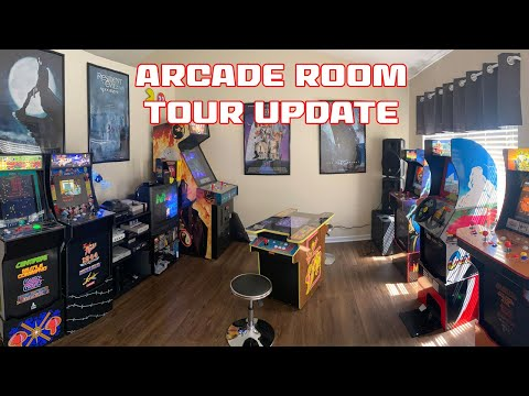 Arcade Room Tour as of May 1st 2021 from SonicGT73