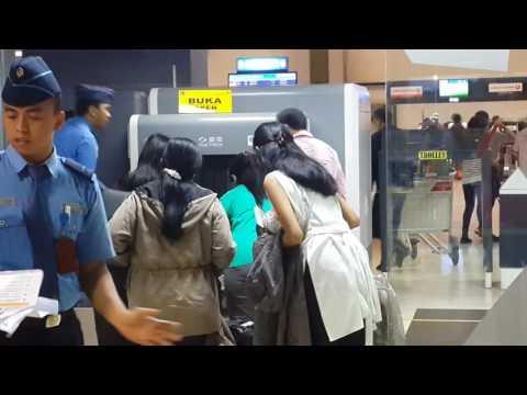 Security Check - Terminal 2 Bandara Soekarno-Hatta Jakarta