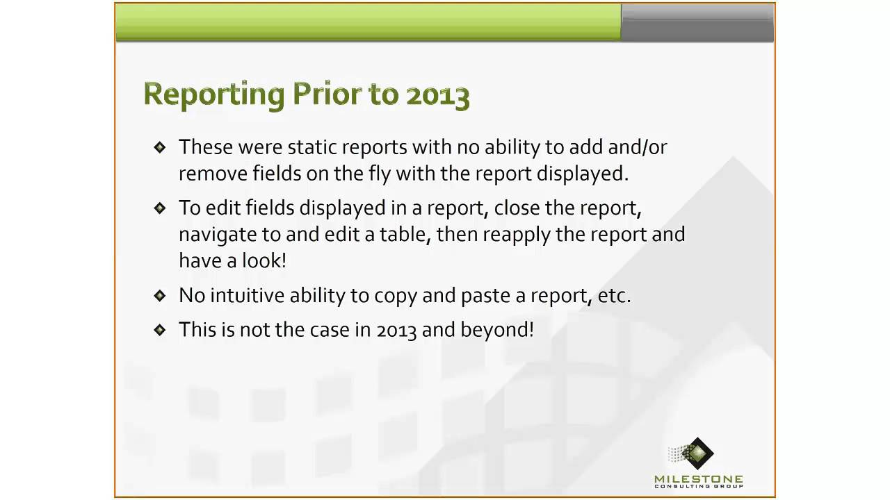 Milestone Consulting Group Reporting In Microsoft Project Pro For