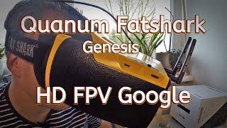 Quanum // Fatshark // Genesis // günstige HD FPV Google mit HDMI Eingang - Review