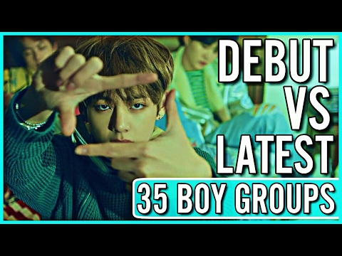 DEBUT SONG VS LATEST SONG | KPOP BOY GROUPS
