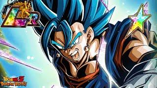 BEST FTP CARD EVER... LR Vegito Blue (With Passive) 100% Showcase | Dragon Ball Z Dokkan Battle
