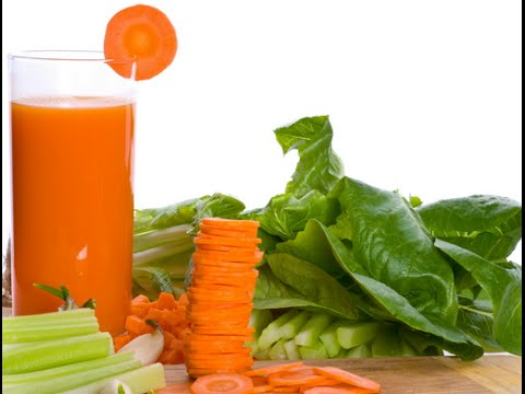 Свеже- выжатый морковный сок