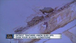 Detroit teachers' union sues DPS